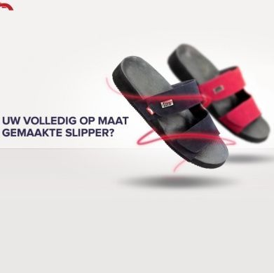 Fits slippers: slipper én steunzool